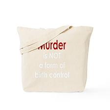 Murder_dark Tote Bag