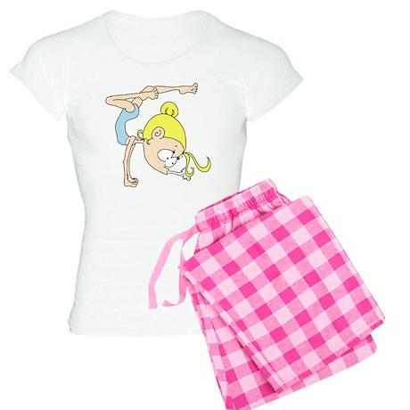 CT-BK-gymnast-0010 Women's Light Pajamas