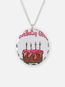 birthday girl 4 Necklace