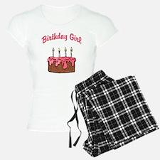 birthday girl 4 Pajamas