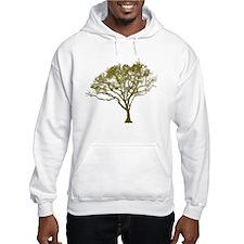 Green Tree Jumper Hoody