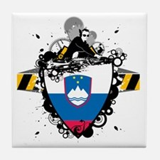 djSlovenia1 Tile Coaster