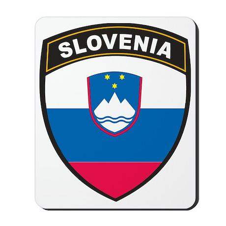 BlackShieldSlovenia1 Mousepad