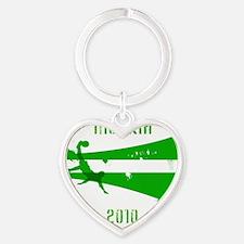 Nigeria copy Heart Keychain