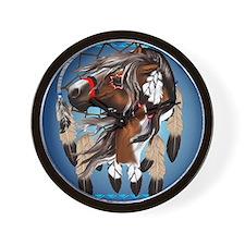 Paint Horse Dreamcatcher_mpad Wall Clock