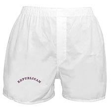 R,W & B Republican Boxer Shorts