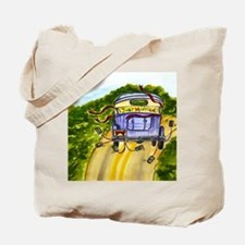 JUST MARRIED TALL FAT Tote Bag