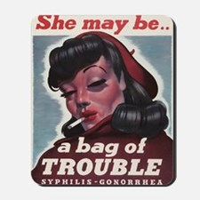Bag of Trouble Mousepad