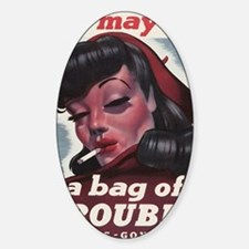 Bag of Trouble Decal