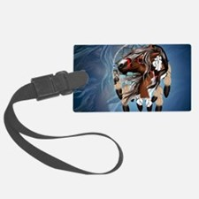 Paint Horse Dreamcatcher-Yardsig Luggage Tag