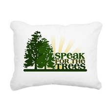 SPEAKTREES Rectangular Canvas Pillow