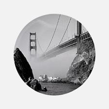"""GOLDEN GATE BRIDGE square2 3.5"""" Button"""