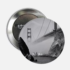 """GOLDEN GATE BRIDGE square2 2.25"""" Button"""