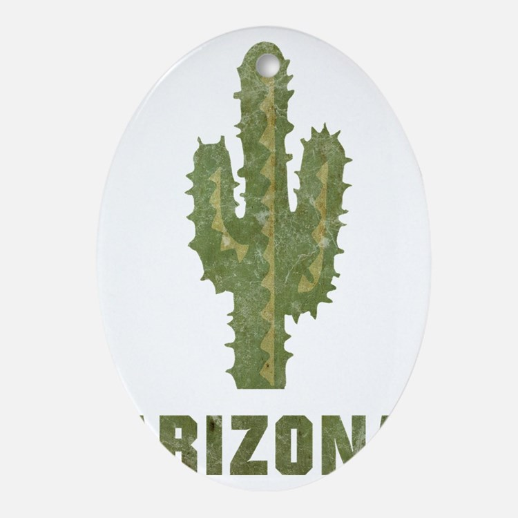 arizona16 Oval Ornament