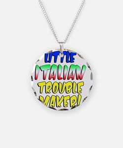 Little Italian Trouble Maker Necklace