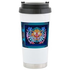 dragon drawer door Travel Coffee Mug