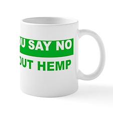 learn about hemp Small Mug