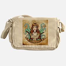 PirateWenchMap Messenger Bag
