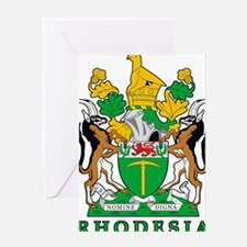 Rhodesia 2a name Greeting Card
