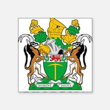 "Rhodesia 2a name Square Sticker 3"" x 3"""