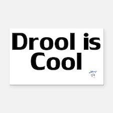 DroolisCool Rectangle Car Magnet