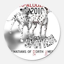 Dalmatians of North America Dalap Round Car Magnet