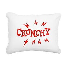 crunchy_reverse Rectangular Canvas Pillow