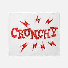 crunchy_reverse Throw Blanket