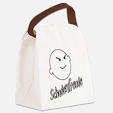 schadenfreude no bckgrnd 4 white Canvas Lunch Bag