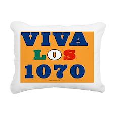 VivaLos1070YardSign Rectangular Canvas Pillow