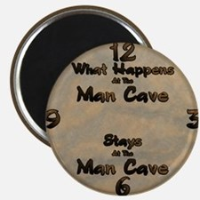 What Happens at the Man Cave Magnet
