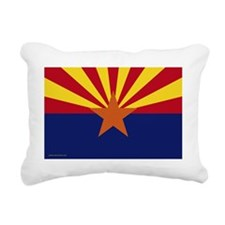 ArizonaFlagYardSign Rectangular Canvas Pillow