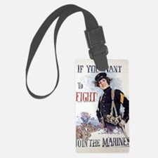 Christy Marines recruiting poste Luggage Tag