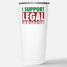 LegalImmigrationYardSign Travel Mug