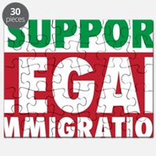 LegalImmigrationYardSign Puzzle
