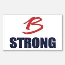 B Strong Decal