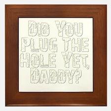 plug-the-hole-v2 Framed Tile