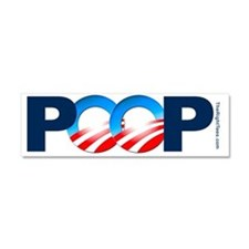 POOP-Bump Car Magnet 10 x 3