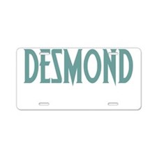 desmondconstantwh Aluminum License Plate