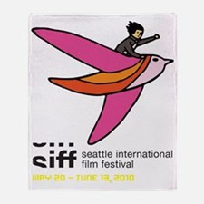 SIFF10_T-Shirt_05a Throw Blanket