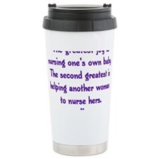 Greatest_Joy_Round Travel Coffee Mug
