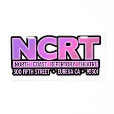 ncrt_logo_pink Aluminum License Plate