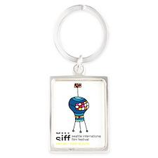 SIFF10_T-Shirt_04a Portrait Keychain