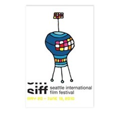 SIFF10_T-Shirt_04a Postcards (Package of 8)