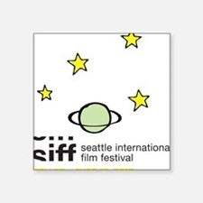 "SIFF10_T-Shirt_06a Square Sticker 3"" x 3"""