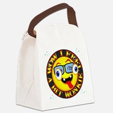 Feelling Wonkie Canvas Lunch Bag