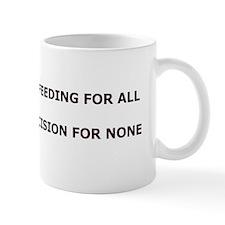 bumper sticker Mug