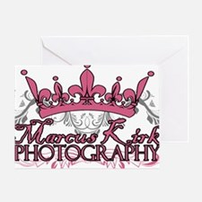 MKP crown logo copy Greeting Card