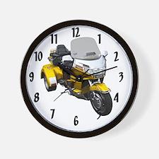 AB08 C-CLOCK MOD GOLD Wall Clock