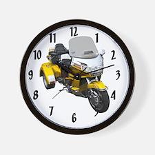 AB08 C-CLOCK LRG GOLD Wall Clock